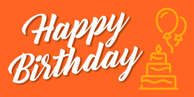 Happy Birthday - E-Gift Card